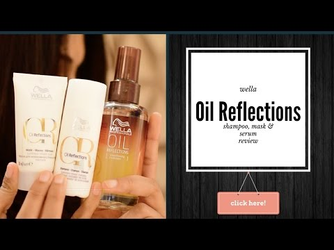 wella oil reflection review