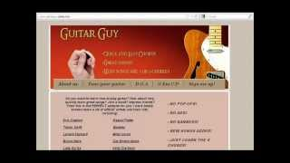 How to play Michael Buble - Home on guitar