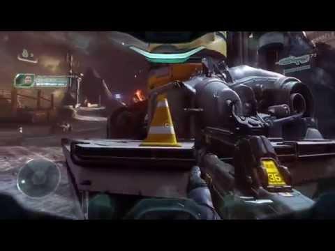 Halo 5 - Crânes - Orage (Évacuation) / Skull Locations - Thunderstorm (Mission 6 - Evacuation)