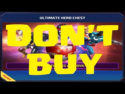 Marvel Future Fight - Ultimate Hero Chest is a Ripoff