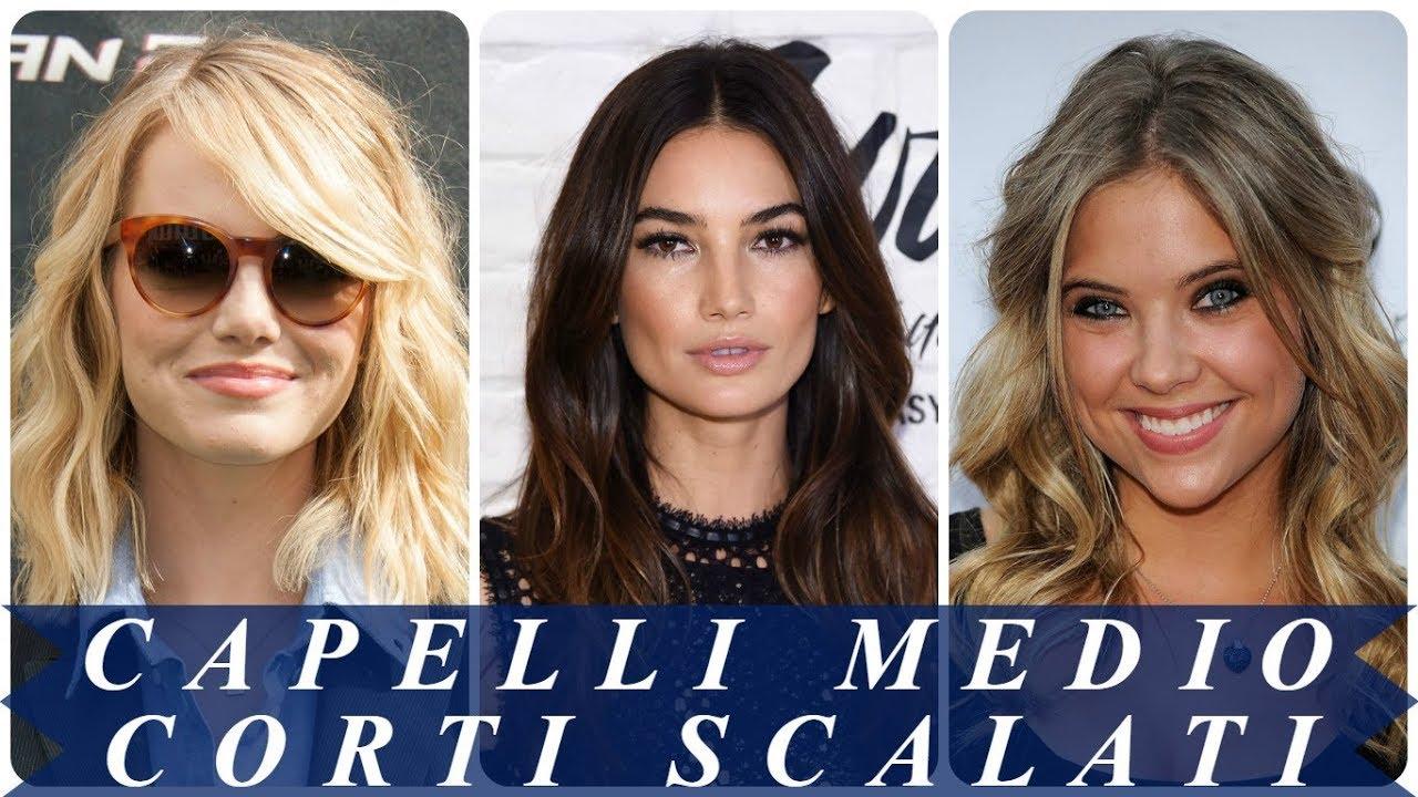 Nuove Pettinature Capelli Medi Scalati 2018 Youtube
