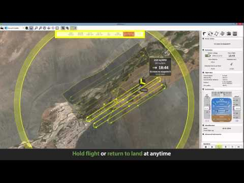 SenseFLY eBee eMotion 2 1, flight planning and control software