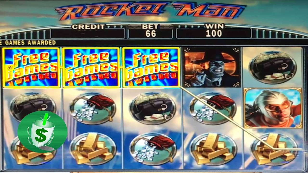 Rocket Man Slot Machine