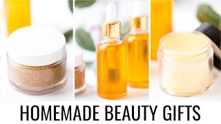 Homemade beauty gift ideas | 3 simple ...