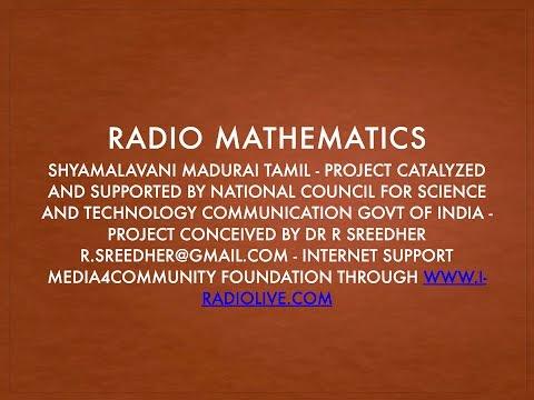 Radio Mathematics Shyamalavani Tamil   064 Fraction Part   4