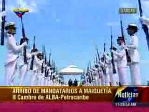 Presidente de Guyana llegó a Venezuela 17 12 2013