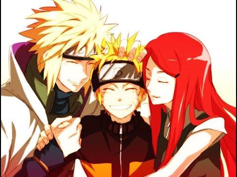 Naruto 火影忍者 :naruto families (parent) 鸣人的一家 (与父母亲) - YouTube