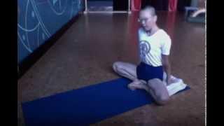 Got a Minute? Do a Pose! Week 15: Baddha Konasana, bound angle pose
