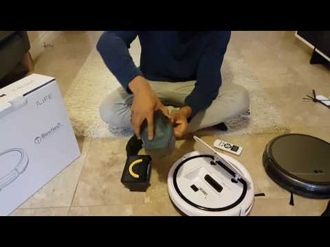 ILIFE V3s Pro Robotic Vacuum Cleaner for Pets and Allergies Home