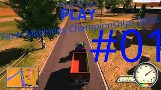 Let's Play Farm Machines Championships 2014 Folge 1v6
