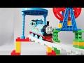 Паровозик Томас и колесо обозрения Развлекающие и развивающие видео обзоры детских игрушек mp3