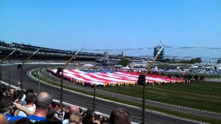 Download 2012 Indy 500 - Star Spangled Banner MP3 song and Music Video