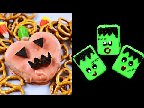 Halloween DIY Recipes For Kids | Learn How To Make Delicious Halloween Treats By Hoopla Recipes Ep.7