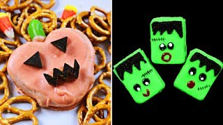 Halloween DIY Recipes For Kids | Learn How To Make Delicious Halloween Treats By HooplaKidz Recipes