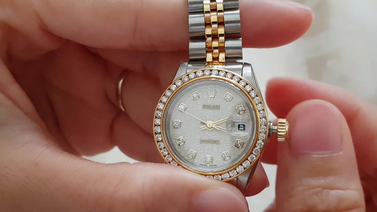 How to set date and time for Rolex ( การตั้งวันที่และเวลานาฬิกาโรเล็กซ์)