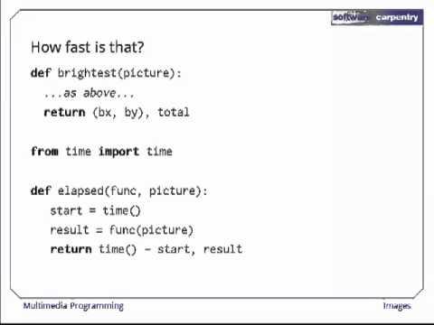 Multimedia Programming - Episode 1 - Images
