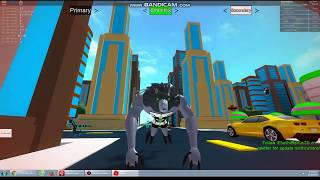 ROBLOX-ATOMIX Game! Ben 10 The way Of Aliens [TEST] Transformation Guide in Ben 10