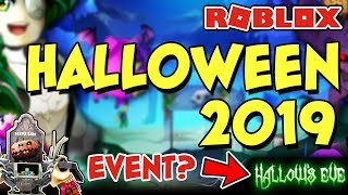 👻 Roblox Halloween 2019 Event? 🎃 ➡️ What We Know + BLOXtober & Hallow's Eve 2009-2018