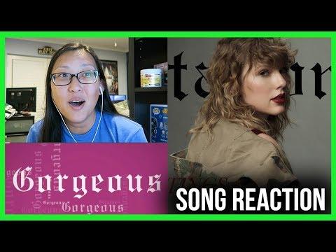 "TAYLOR SWIFT ""Gorgeous"" REACTION! #reputation"