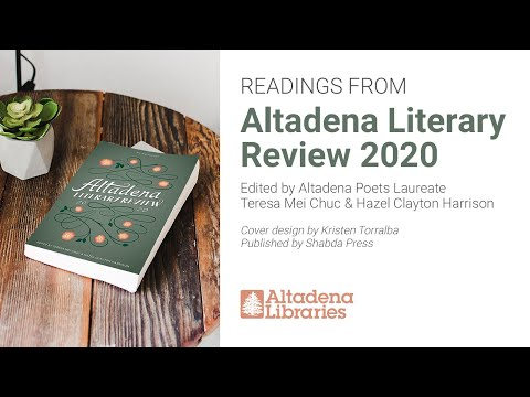 Alicia Elkort | Altadena Literary Review 2020