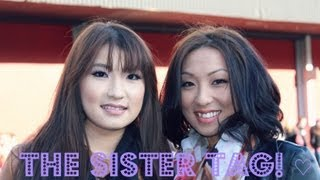 The Sister Tag! ♡ ft.  Maggie Lee thumbnail