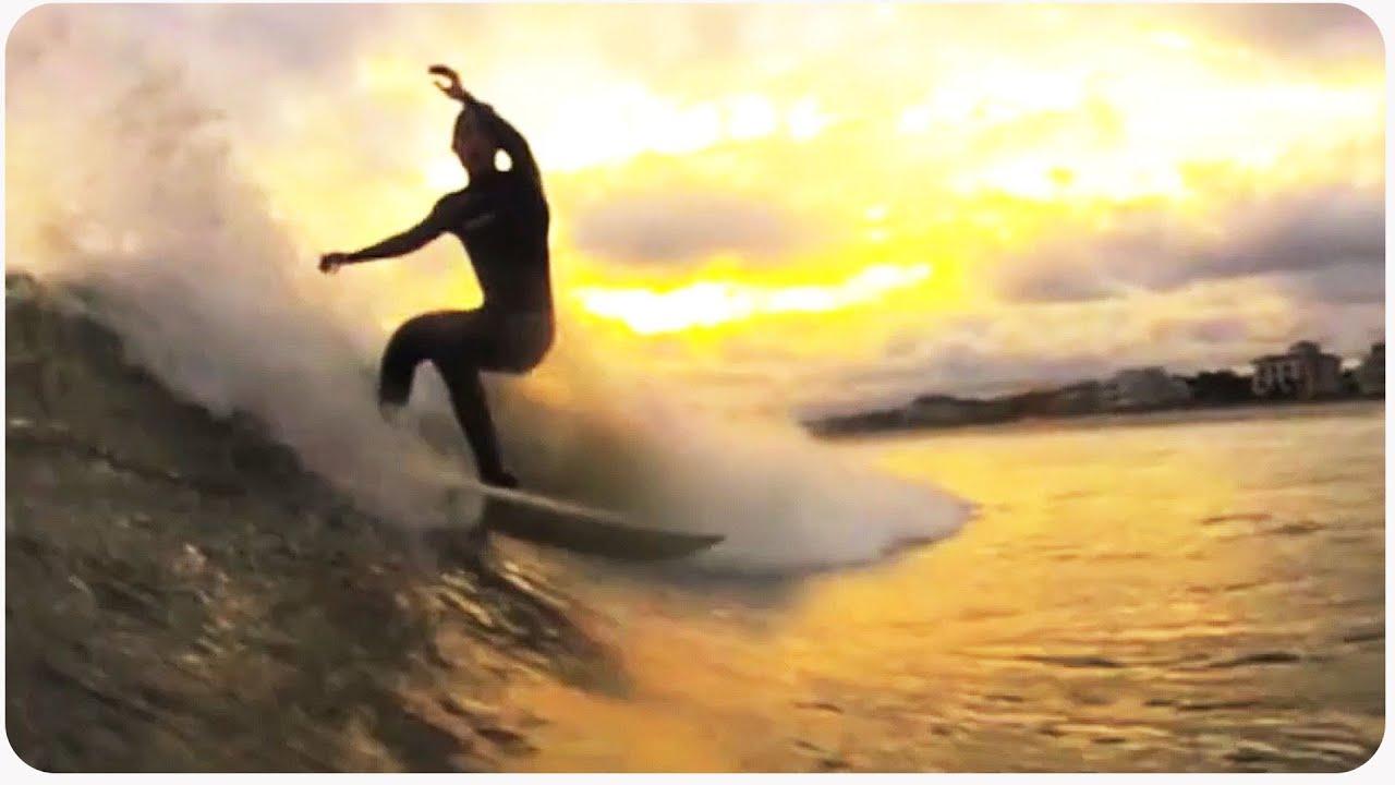 e6d50b5b65 Surfing at Sunset