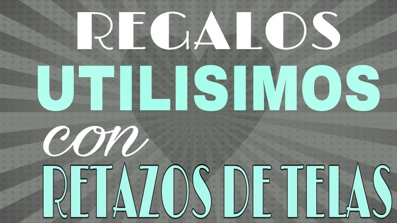 dca1c2d3a REGALOS UTILISIMOS CON RETAZOS DE TELA - Fabiana Marquesini - 47 ...