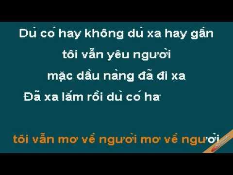Mo Trong Giac Mong Karaoke - D&d - CaoCuongPro