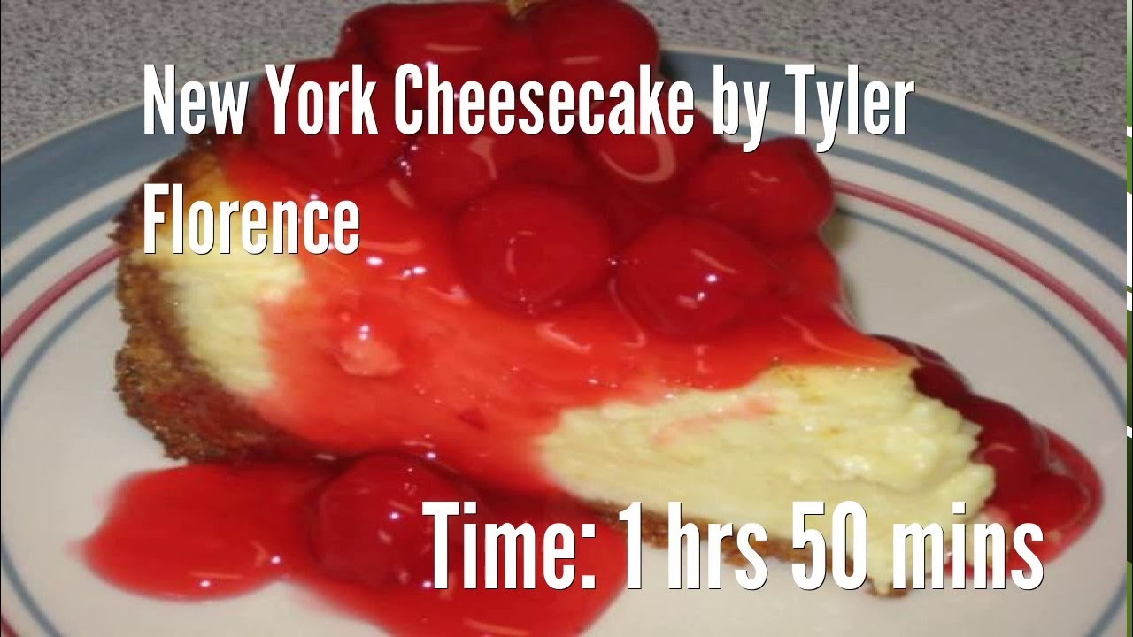 new york cheesecaketyler florence recipe - youtube