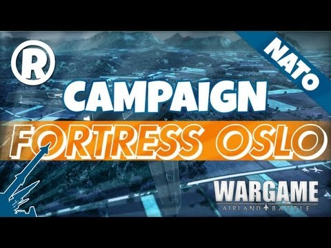 Wargame: AirLand Battle - Campaign - Fortress Oslo 1