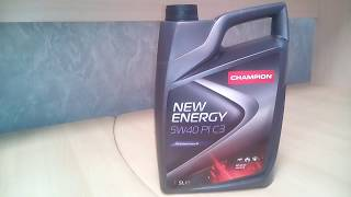 Моторное масло CHAMPION NEW ENERGY 5W40 PI C3