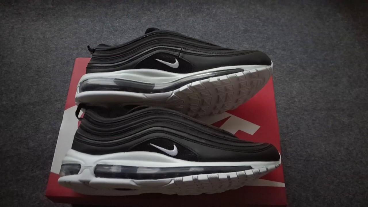 c008b817e59 Nike Air Max 97 OG Black White 921826-001 - YouTube