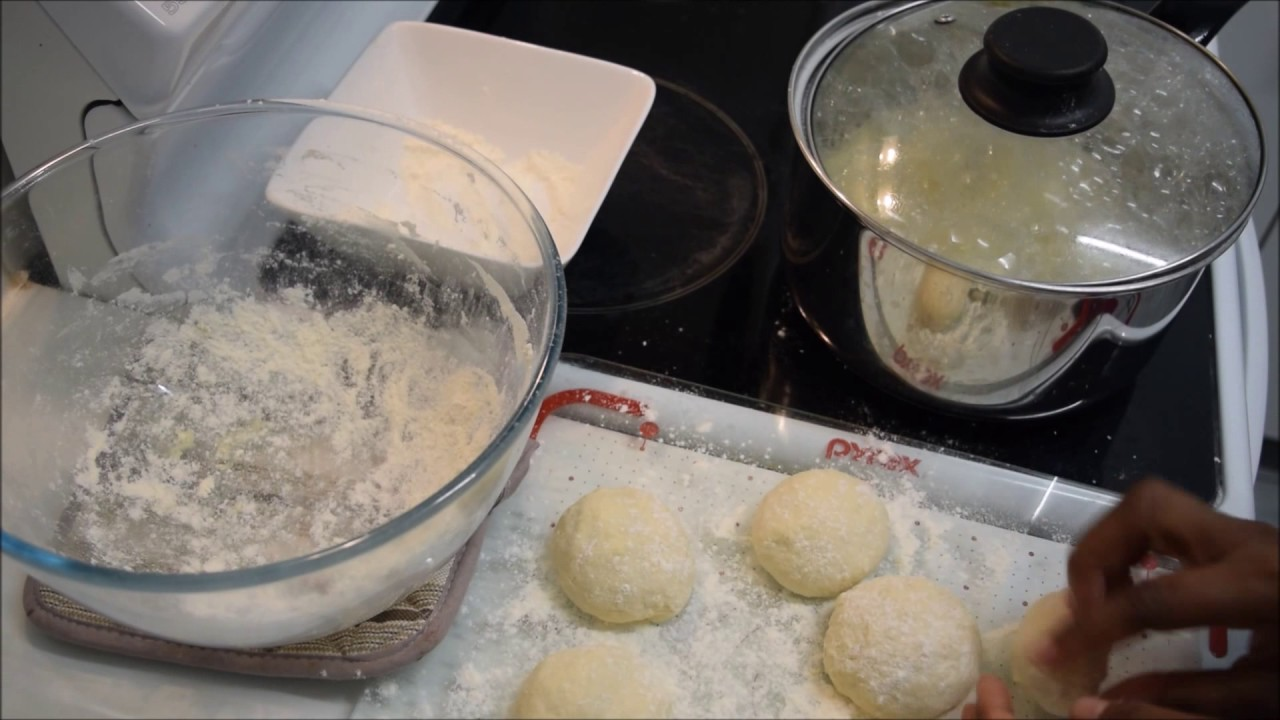 How To African Traditional Dumplings Madombi Youtube