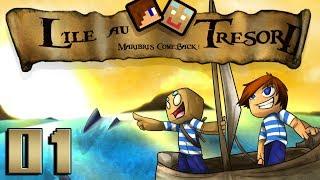 L'île au Trésor II : Maribri's ComeBack ! | 01 - Minecraft thumbnail