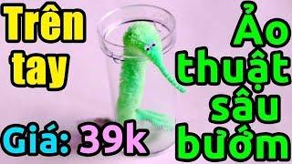 Скачать Trên Tay Bộ ảo Thuật Sâu Bướm Giá 39k Twisty Worm Magic