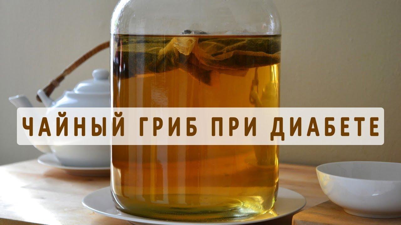 Помогает ли чайный гриб при диабете