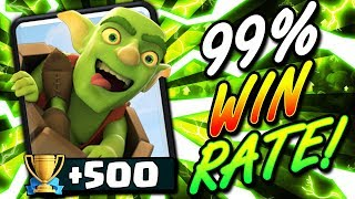 99% WIN RATE LADDER BAIT DECK!! +500 TROPHIES IN ONE HOUR!