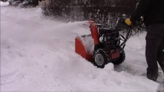 Husqvarna 12527HV Snowblower Long-Term Review and Test