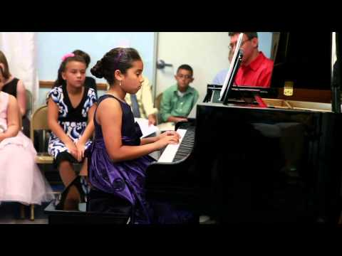 Piano Recital at Allegro Music Academy in Sarasota