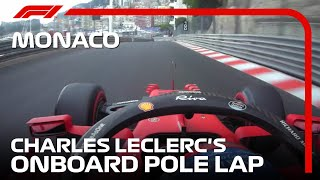 Charles Leclerc's Onboard Pole Lap | 2021 Monaco Grand Prix | Pirelli