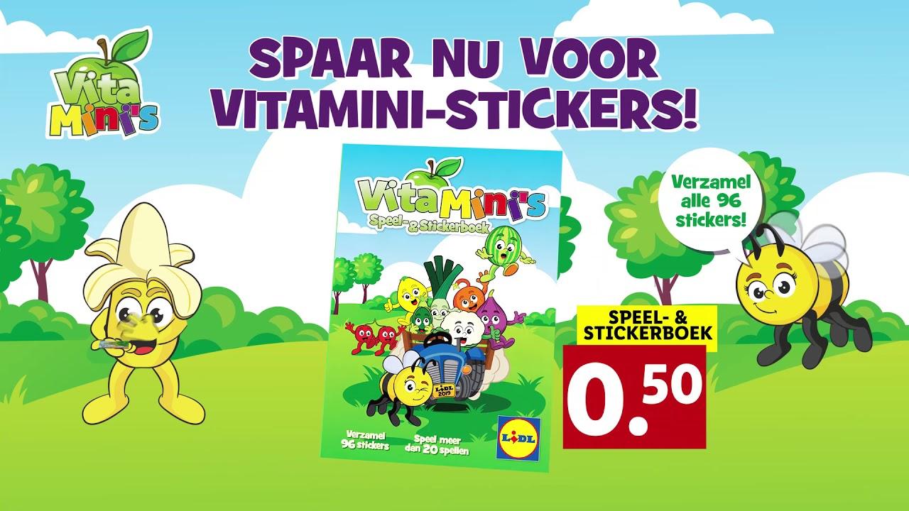 Lidl: VitaMini Stickers