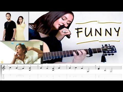 Zedd U0026 Jasmine Thompson - Funny | Fingerstyle Guitar Cover (FREE TABS)