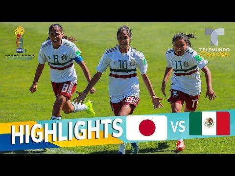 Japón vs. México: 1-1 Goals & Highlights | Mundial Femenina Sub-17 | Telemundo Deportes