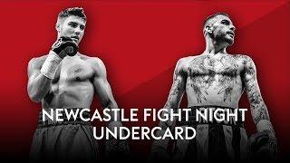 Newcastle Fight Night Undercard Stream