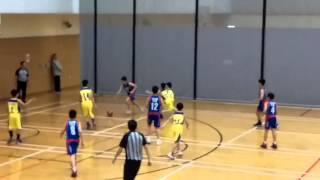 筲箕灣崇真小學VS信愛(學界籃球決賽)