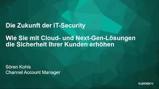 Webinar: Die Zukunft der IT-Security