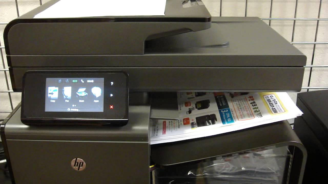 Hp 970 971 Officejet Pro 476dn Ciss System Youtube