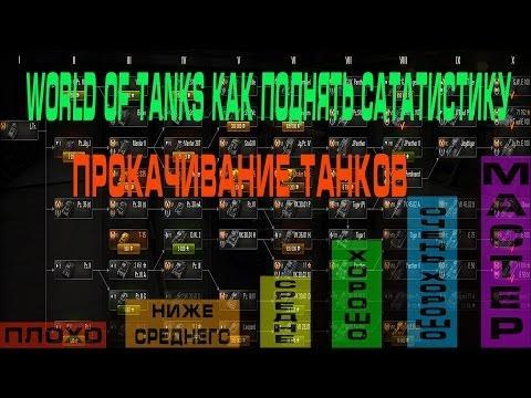 видео: world of tanks как поднять статистику  (Прокачивание танков )