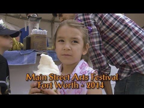 2014 Main Street Arts Festival - Fort Worth, Texas