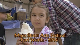 2014 Main Street Arts Festival - Fort Worth, Texas